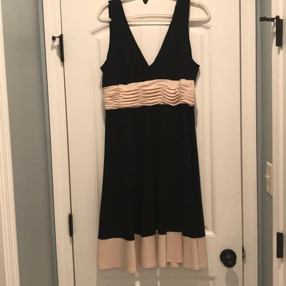 c39d6d93c8119 Jones New York Dresses   Black And Cream Cocktail Dress   Poshmark